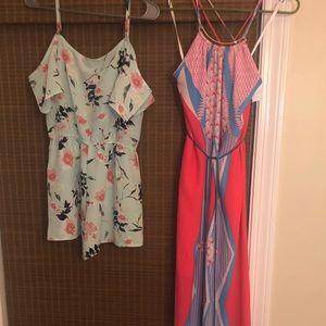 Dresses & Skirts - New maxi dress & jumper sz medium